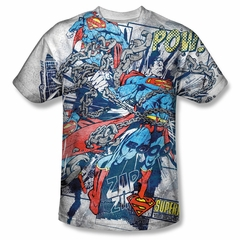 Superman Break Free Sublimation Shirt