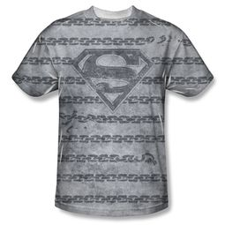 Superman Breaking Chains All Over Sublimation Shirt