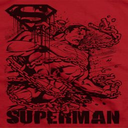 Superman Breaking Chains Shirts