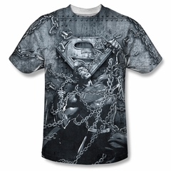 Superman Breaking Free Sublimation Shirt