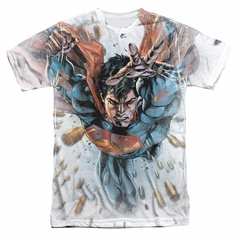 Superman Bullets In The Sky Sublimation Shirt