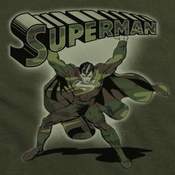 Superman Camo Colored Shirts