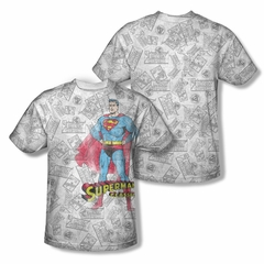 Superman Classic Sublimation Shirt Front/Back Print