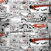 Superman Comic Page All Over Sublimation Shirts