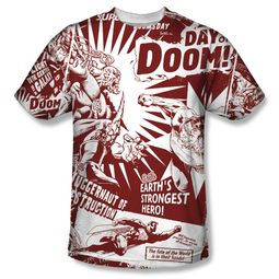 Superman Day Of Doom Sublimation Shirt