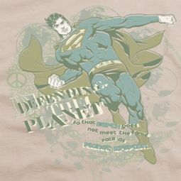Superman Defending Earth Shirts