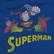 Superman Distresed Shirts