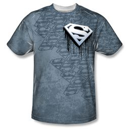 Superman Drip And Repeat Sublimation Shirt