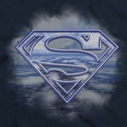 Superman Flying Shield Shirts