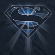 Superman Glowing Shield Shirts