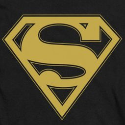 Superman Gold Shield Shirts