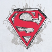 Superman Hastily Drawn Shirts