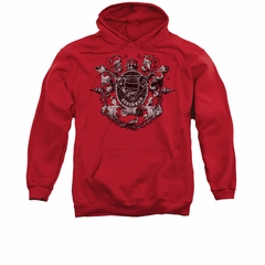 Superman Hoodie All Hail Red Sweatshirt Hoody