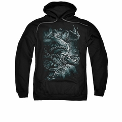Superman Hoodie Break Free Black Sweatshirt Hoody
