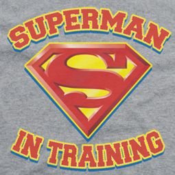 Superman In Training Shirts