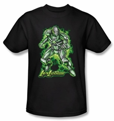 Superman Kids T-shirt DC Comics Kryptonite Lux Luther Shirt Tee Youth