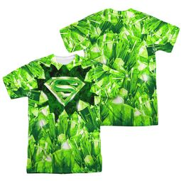 Superman Kryptonite Shield Sublimation Shirt Front/Back Print