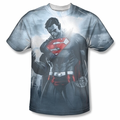 Superman Light Of The Sun Sublimation Shirt