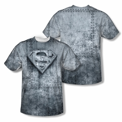 Superman Made Of Steel Sublimation Shirt Front/Back Print