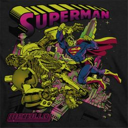 Superman Metallo Shirts