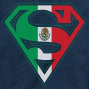 Superman Mexican Shield Shirts