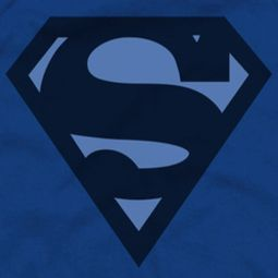 Superman Navy Shield Shirts