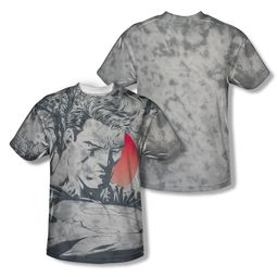 Superman New Day Dawning Sublimation Shirt Front/Back Print