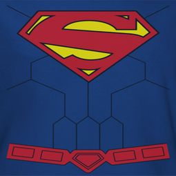 Superman New Torso Shirts