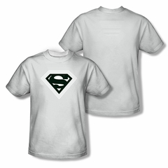 Superman Optical Stripes Sublimation Shirt Front/Back Print