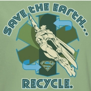 Superman Recycle Shirts