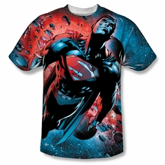Superman Red Sun Sublimation Shirt