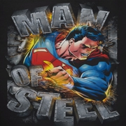 Superman Ripping Steel Shirts
