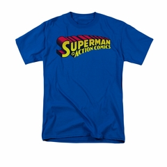 Superman Shirt Action Comics Royal T-Shirt