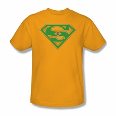 Superman Shirt Brazil Shield Gold T-Shirt