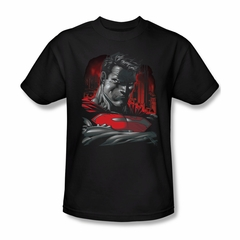 Superman Shirt Bust Black T-Shirt