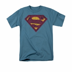 Superman Shirt Celtic Shield Slate T-Shirt
