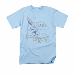Superman Shirt I Fell Light Blue T-Shirt