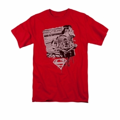 Superman Shirt Identity Red T-Shirt