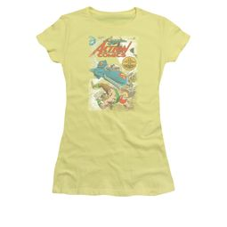 Superman Shirt Juniors Supermobile Banana T-Shirt