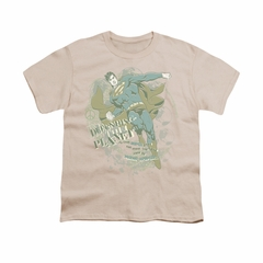 Superman Shirt Kids Defending Earth Cream T-Shirt