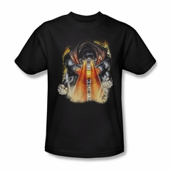 Superman Shirt Laser Eyes Black T-Shirt