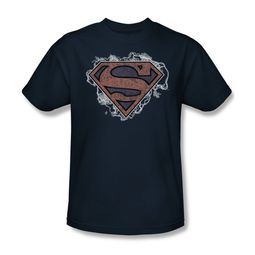 Superman Shirt Storm Clouds Navy T-Shirt