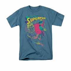 Superman Shirt Super Spray Slate T-Shirt