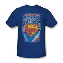 Superman Shirt The Legend Royal T-Shirt