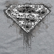 Superman Skull Shield Shirts