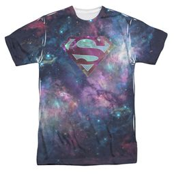 Superman Spaced Out Logo Sublimation Shirt