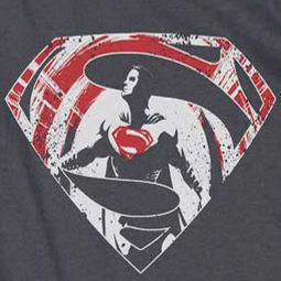 Superman Splatter Logo Shirts