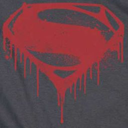 Superman Splattered Shirts