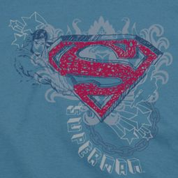 Superman Stars And Chains Shirts