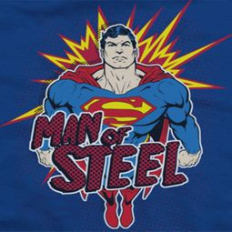 Superman Steel Pop Shirts